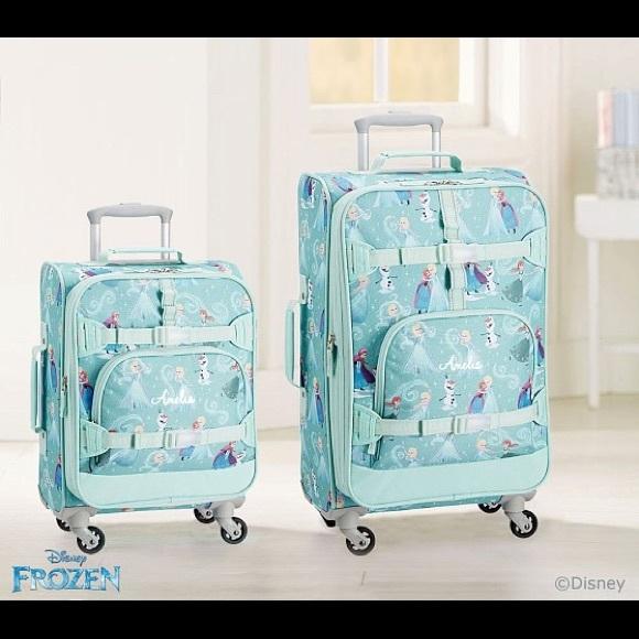 34215af3dabc PBK Mackenzie Aqua Disney Frozen Small Luggage